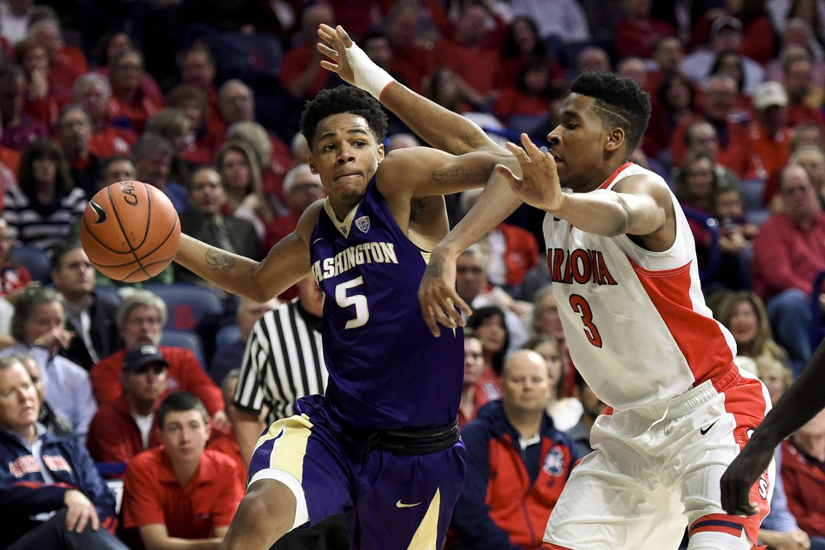 Dejounte Murray was just 3-12 from the floor with 8 points against Arizona Thursday night