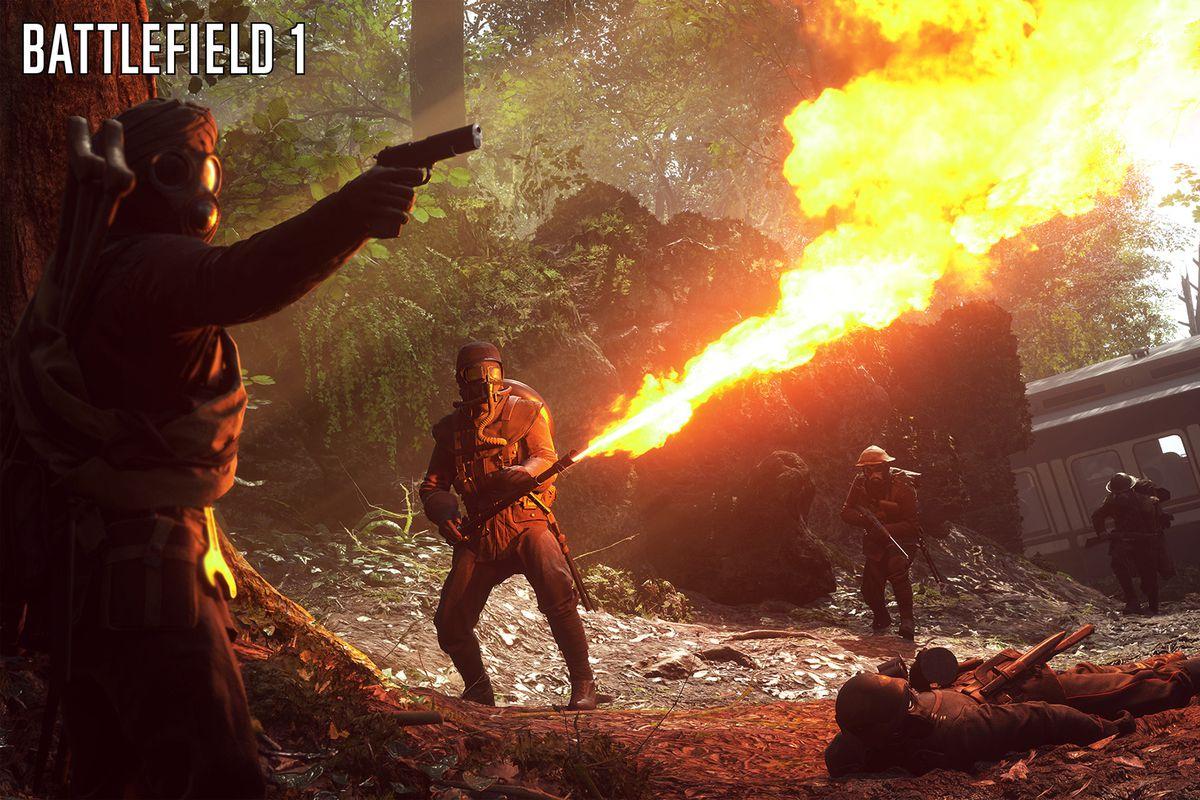 Battlefield 1 - flame trooper screenshot