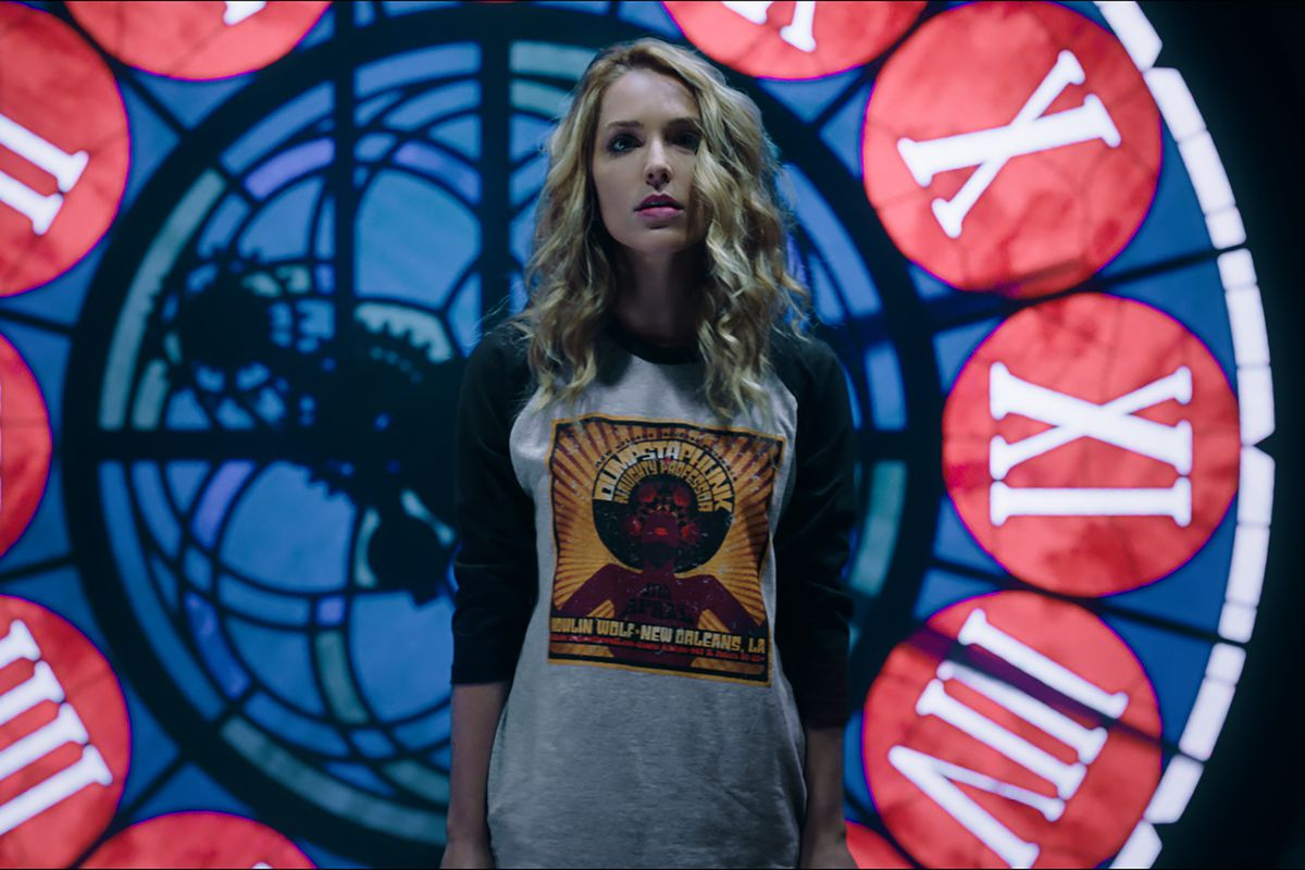 happy death day 2u star Jessica Rothe as Tree in after credits scene