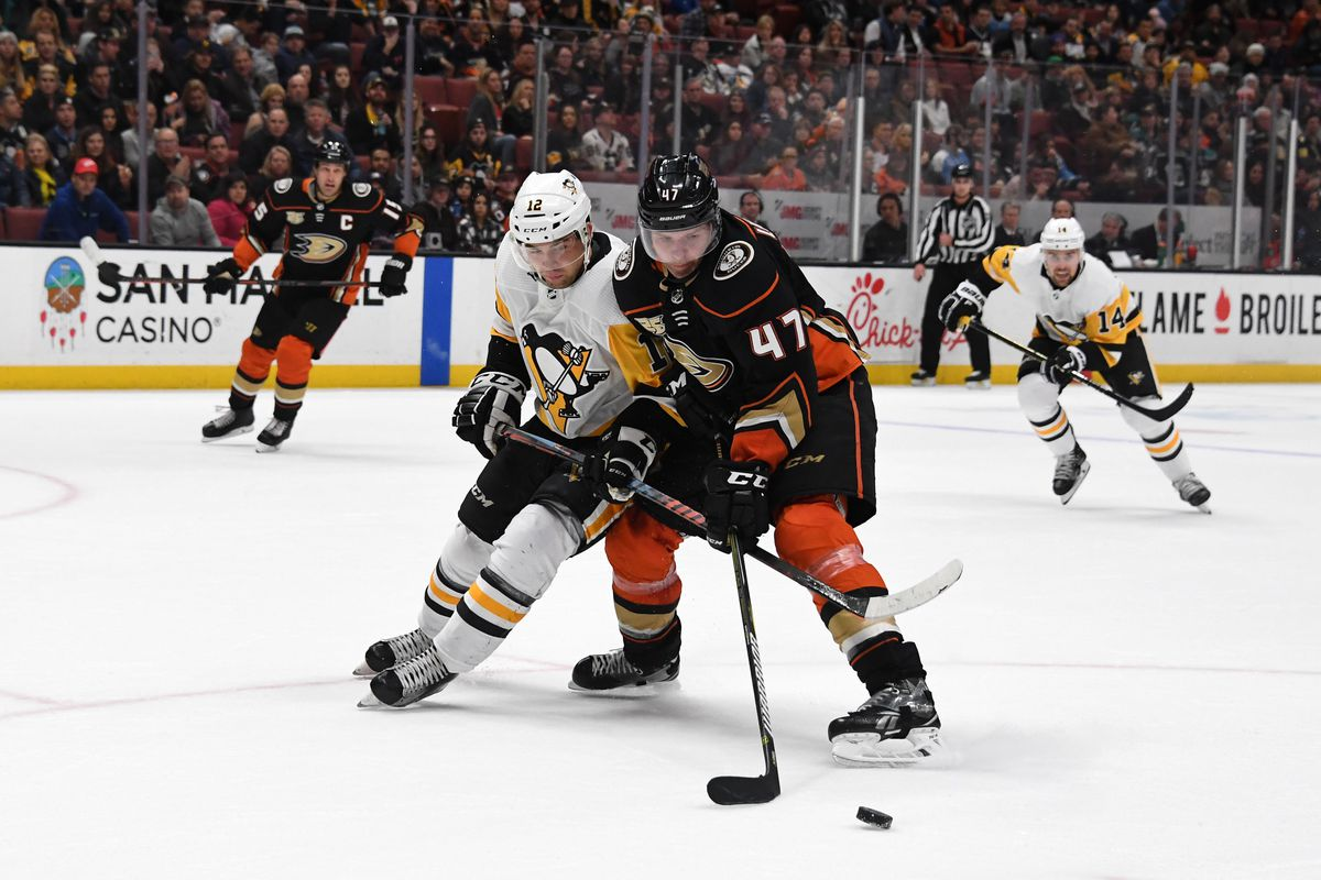 NHL: Pittsburgh Penguins at Anaheim Ducks