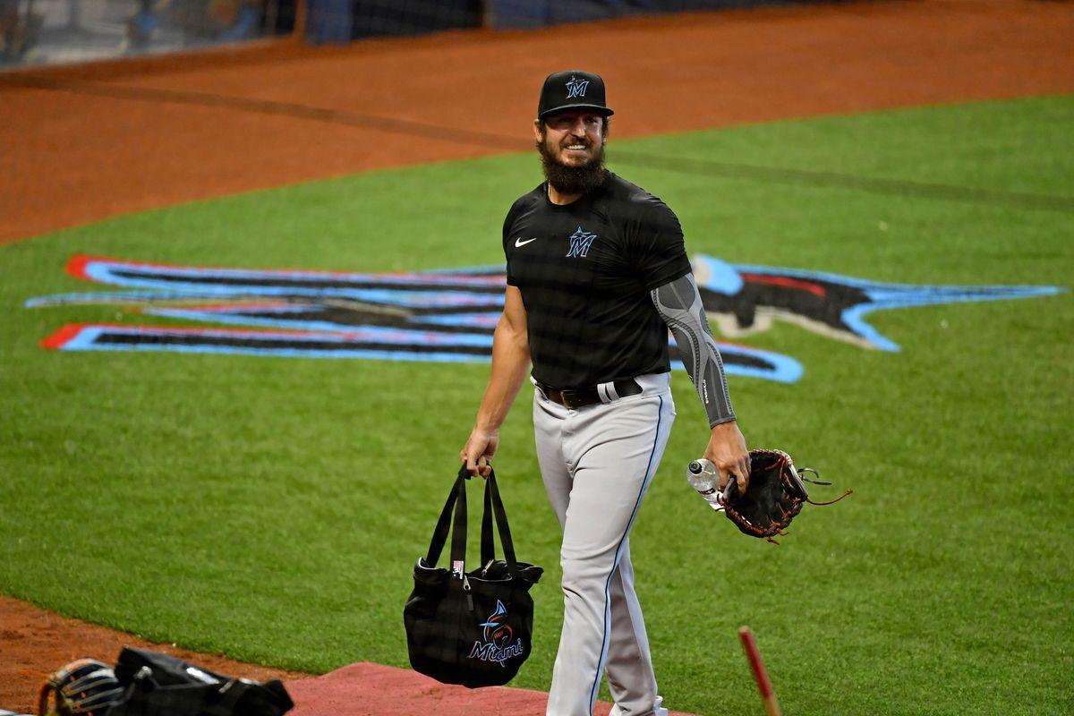 MLB: Miami Marlins-Workouts
