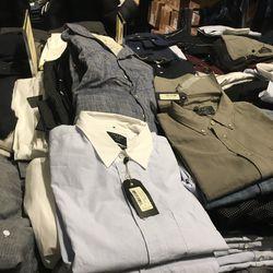 Men's shirts, $98