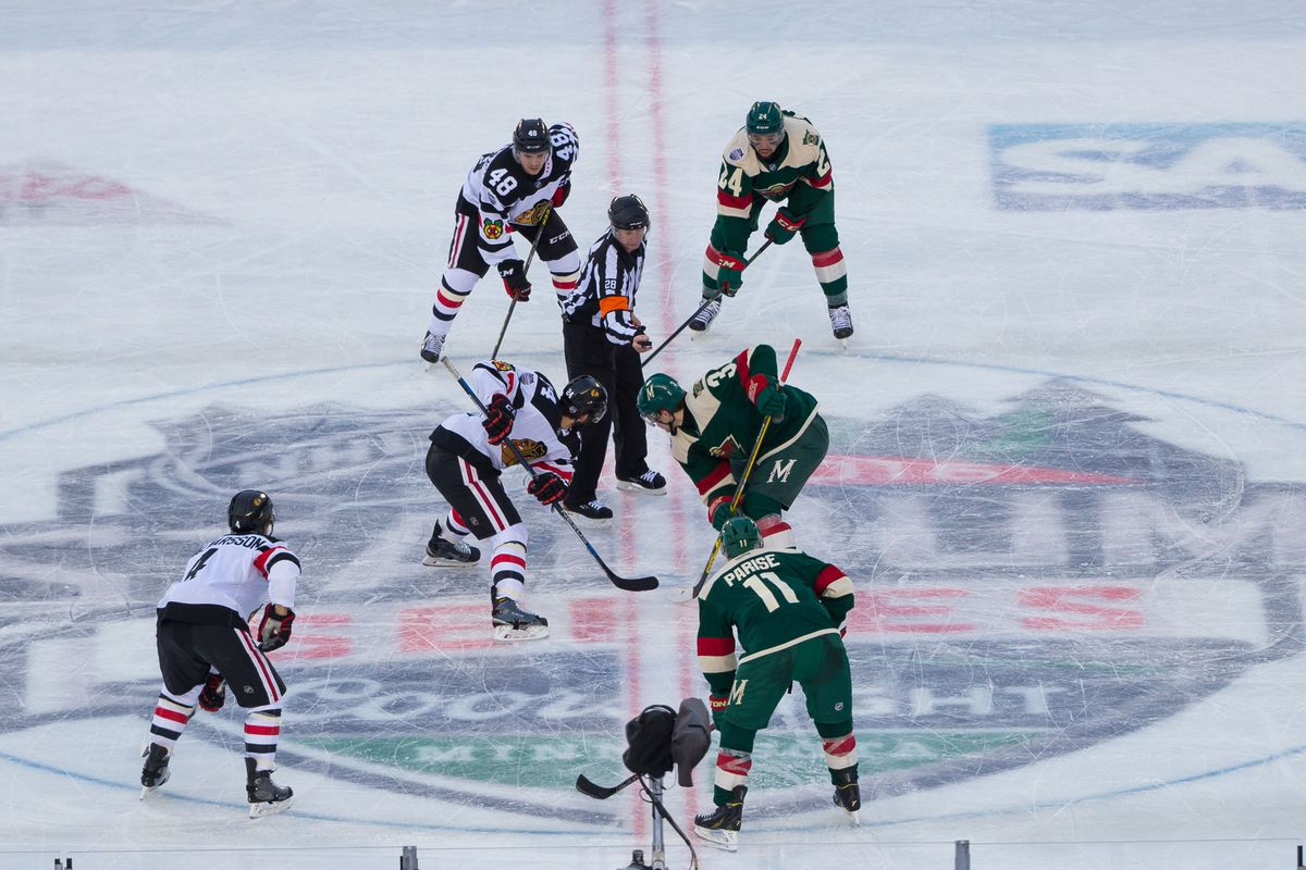 2021 Winter Classic: Blackhawks 'in the mix' to play Wild at Target Field