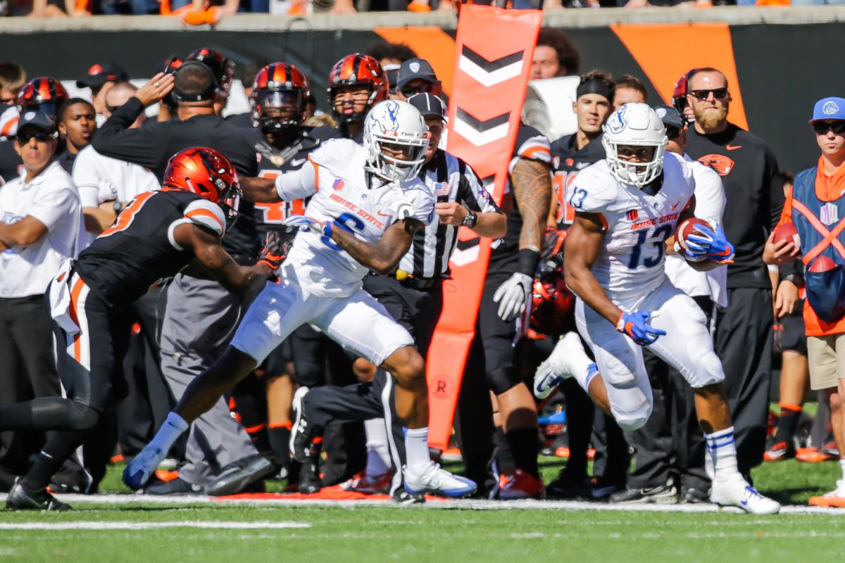 NCAA FOOTBALL: SEP 24 Boise State at Oregon State