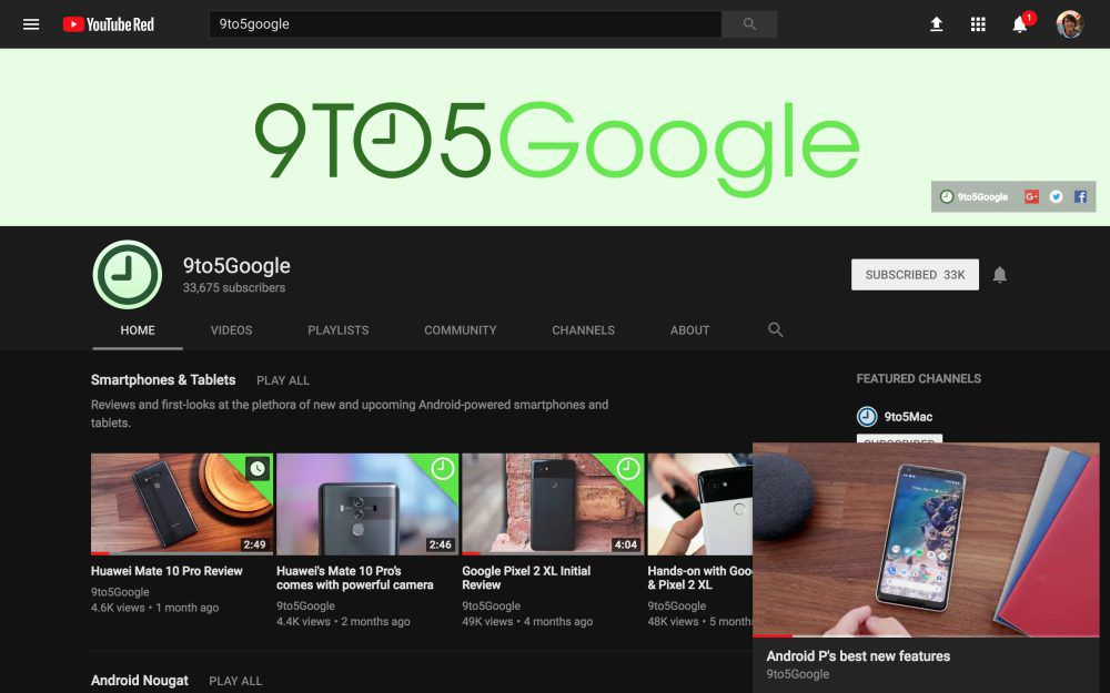 youtube is testing picture in picture for desktop the verge