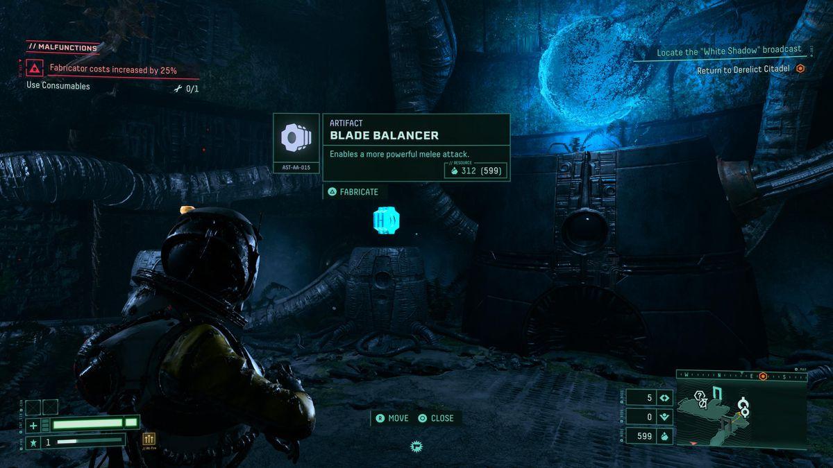 The Blade Balancer in Returnal