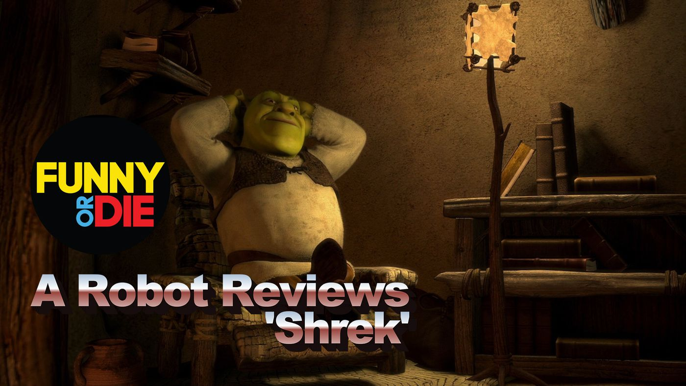 A Robot Reviews Shrek