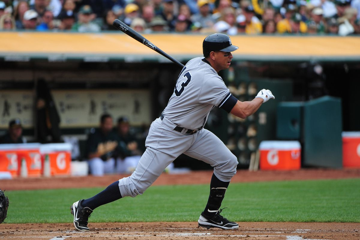 If Alex can get a hot streak going the Yankees offense will be unstoppable.
