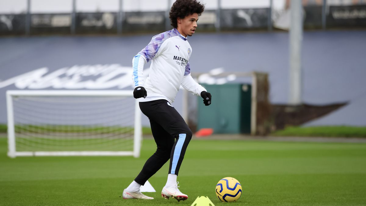 Leroy Sane Rehabilitation Training Session
