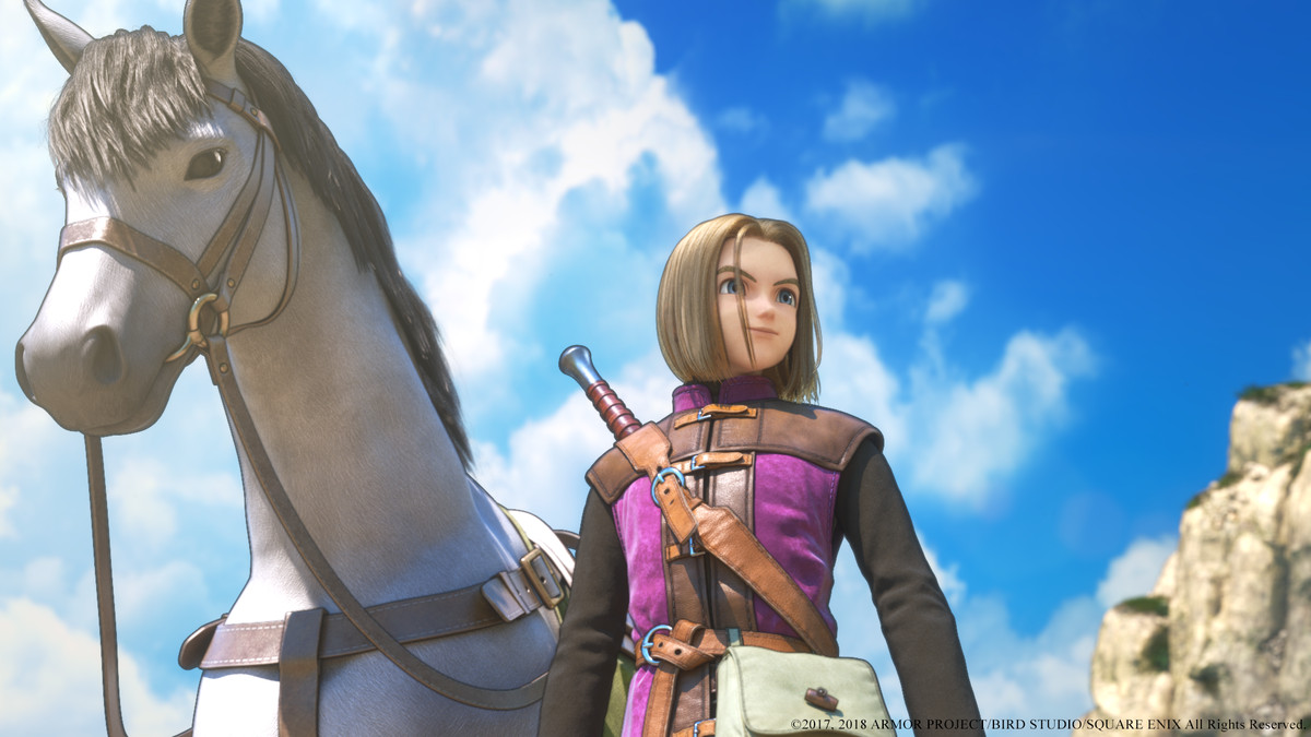 Dragon Quest 11 Review Video Game Comfort Food The Verge