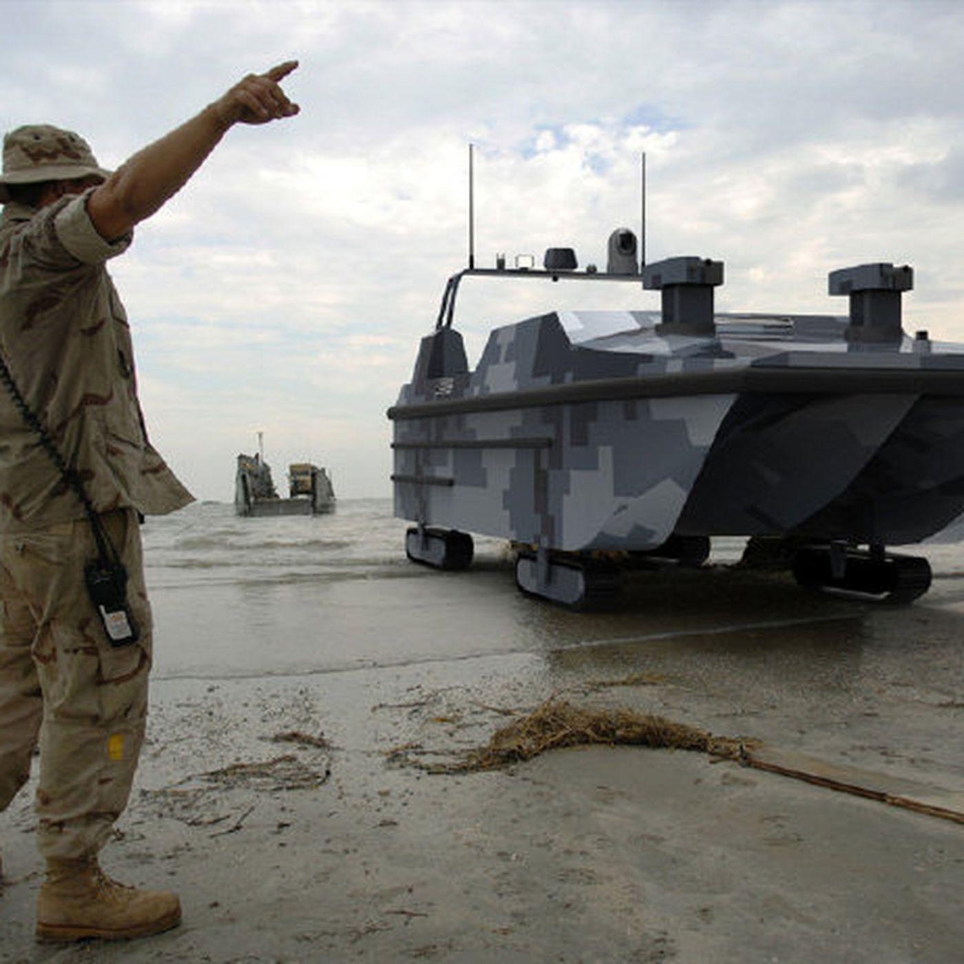 theverge.com - Andrew Liptak - China unveils the first autonomous amphibious military landing vehicle