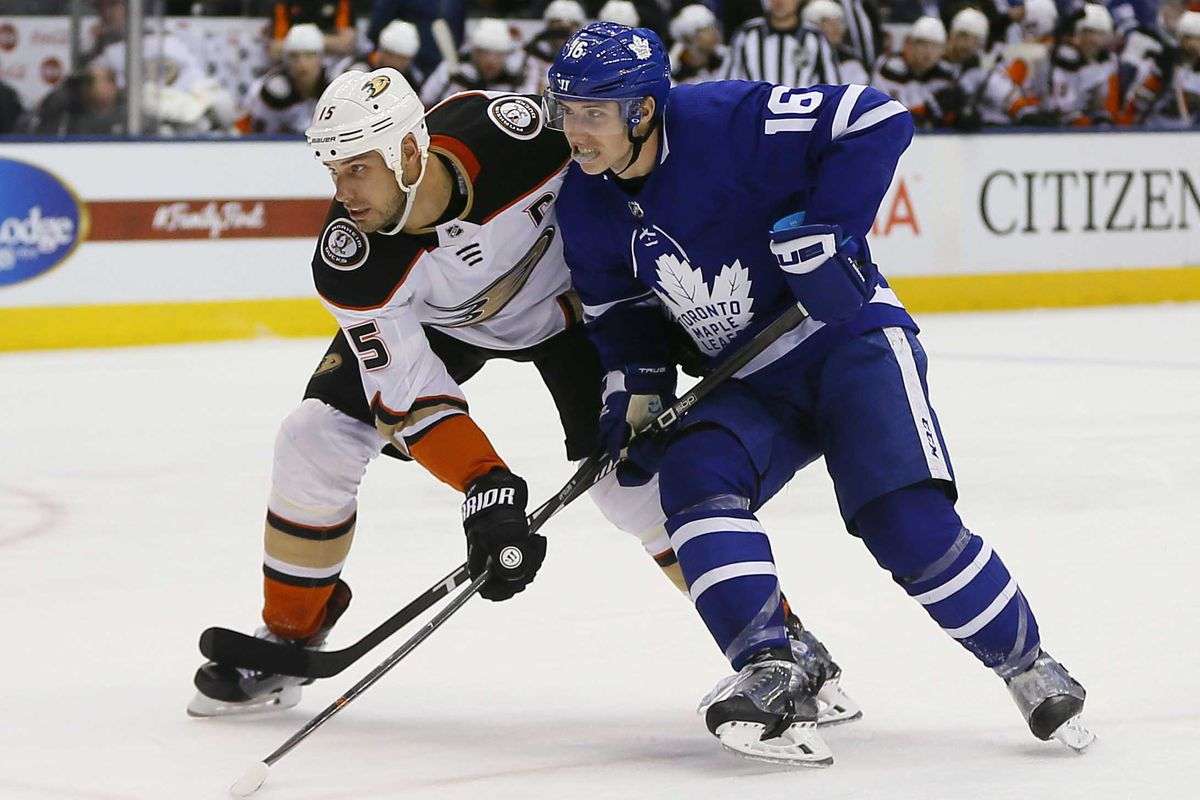 NHL: Anaheim Ducks at Toronto Maple Leafs