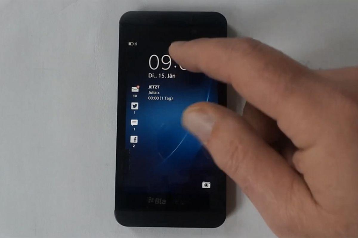 BlackBerry Z10 (Telekom-Presse)