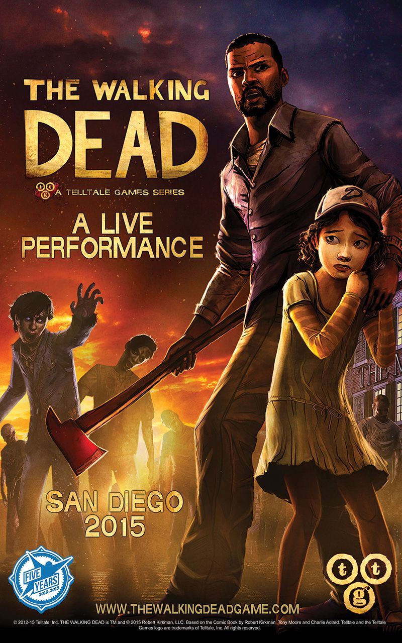 'The Walking Dead Live Performance' poster 800