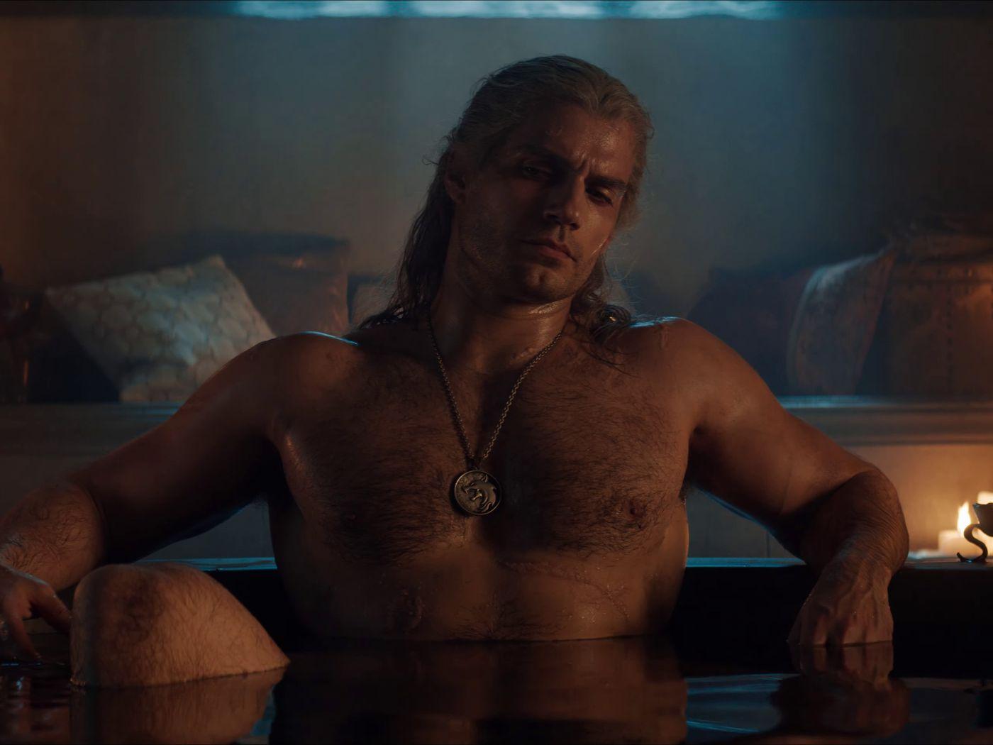 Netflix S Witcher Trailer Bathtub Geralt December Release