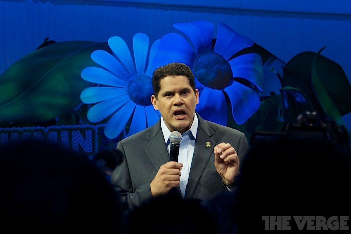 Reggie at E3 stock