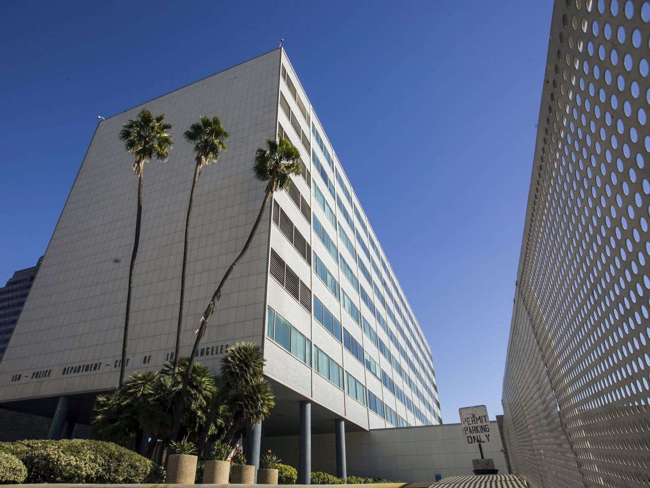 Parker Center was built in 1955 and served as LA's longtime police headquarters.