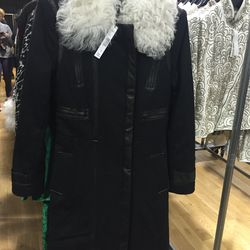 Coat, size large, $225 (from $1,197)