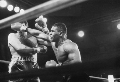 158063869.jpg - A look back at the destruction of young Tyson with matchmaker Ron Katz