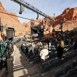 Utah Gov. Spencer Cox's inaugural ceremony at Tuacahn Center for the Arts in Ivins near St. George on Monday, Jan. 4, 2021.