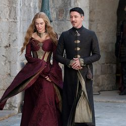 Season 3: Cersei gets very cocky this season, and it shows in her hair and exposed shoulders.