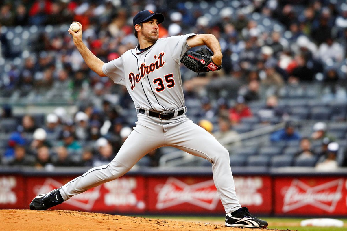 Justin Verlander threw a lot of pitches, but who cares?