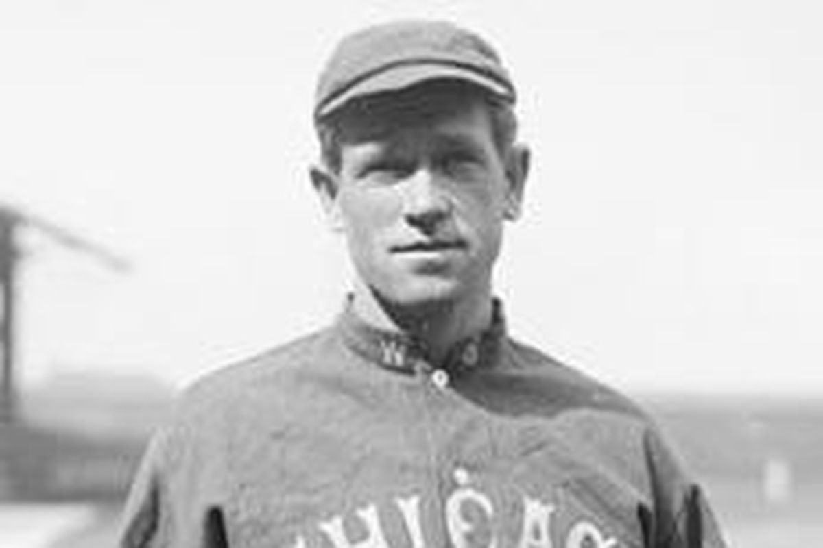 Hal Chase, the Black Prince of Baseball -- year is likely 1913 or 1914