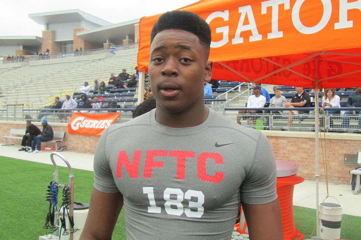 Victor Evans at the Dallas NFTC