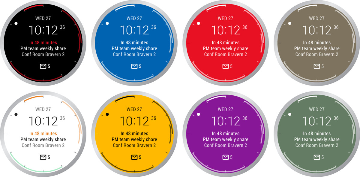 Microsoft made a powerful Outlook watchface for Android Wear - The Verge