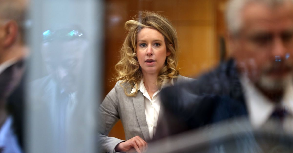 Publicizing Elizabeth Holmes' Serious Texts Is the Ultimate Crime Deterrent