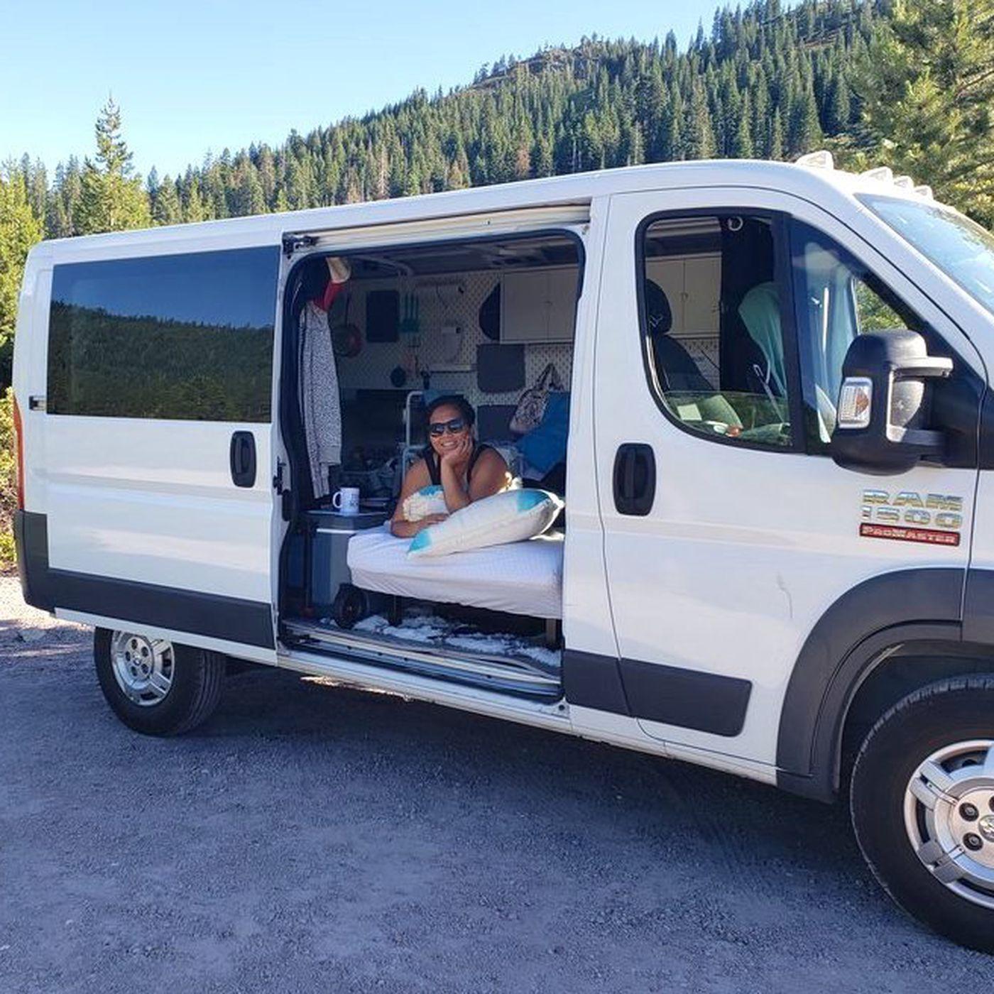 Camper Van Conversion Cost 1 000 Using Ikea Curbed