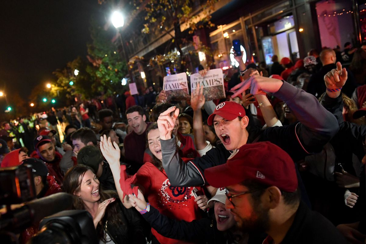 World Series 2019 Washington Nationals vs. Houston Astros in Game 7 watch party at Nationals Park