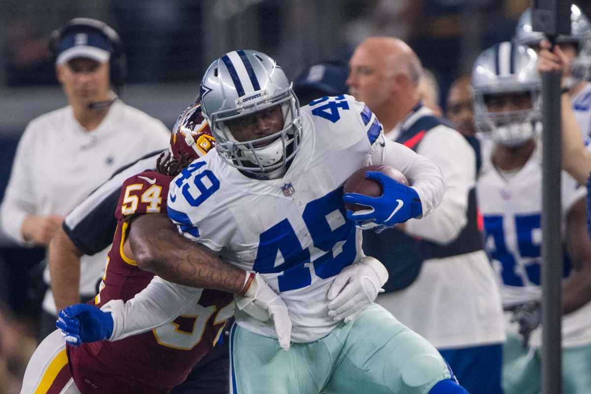 super popular 213e8 f40a5 The Pros and Cons of the Cowboys re-signing Jamize Olawale ...