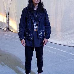 Forget U designer Deb was a badass tomboy in almost all black everything.