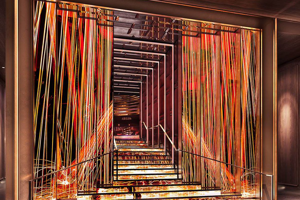 Jewel nightclub sets a date for opening at aria eater vegas for Design hotel jewel