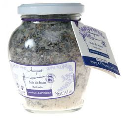 Autrepart Lavender Bath Salts is great for a relaxing bath.