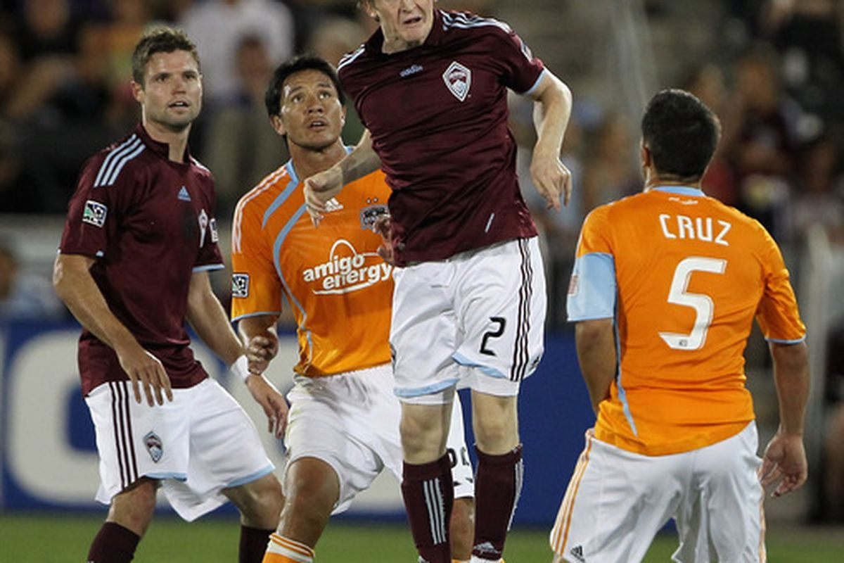 This was the look on most Rapids fans faces whenever Earls was playing near the end of the season.