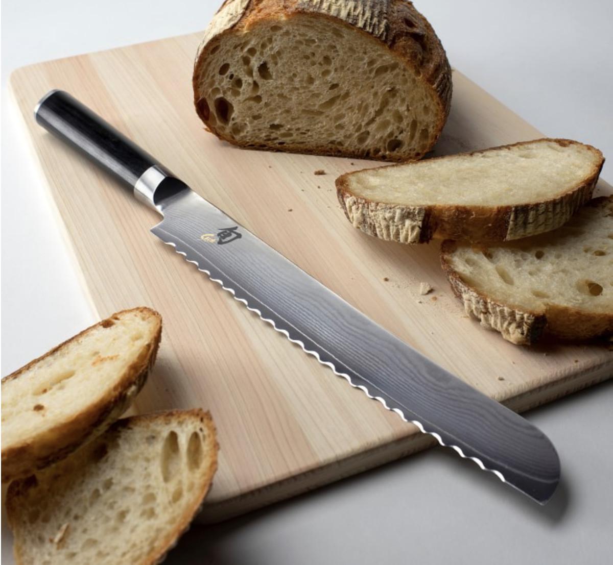 Avoid bread knives