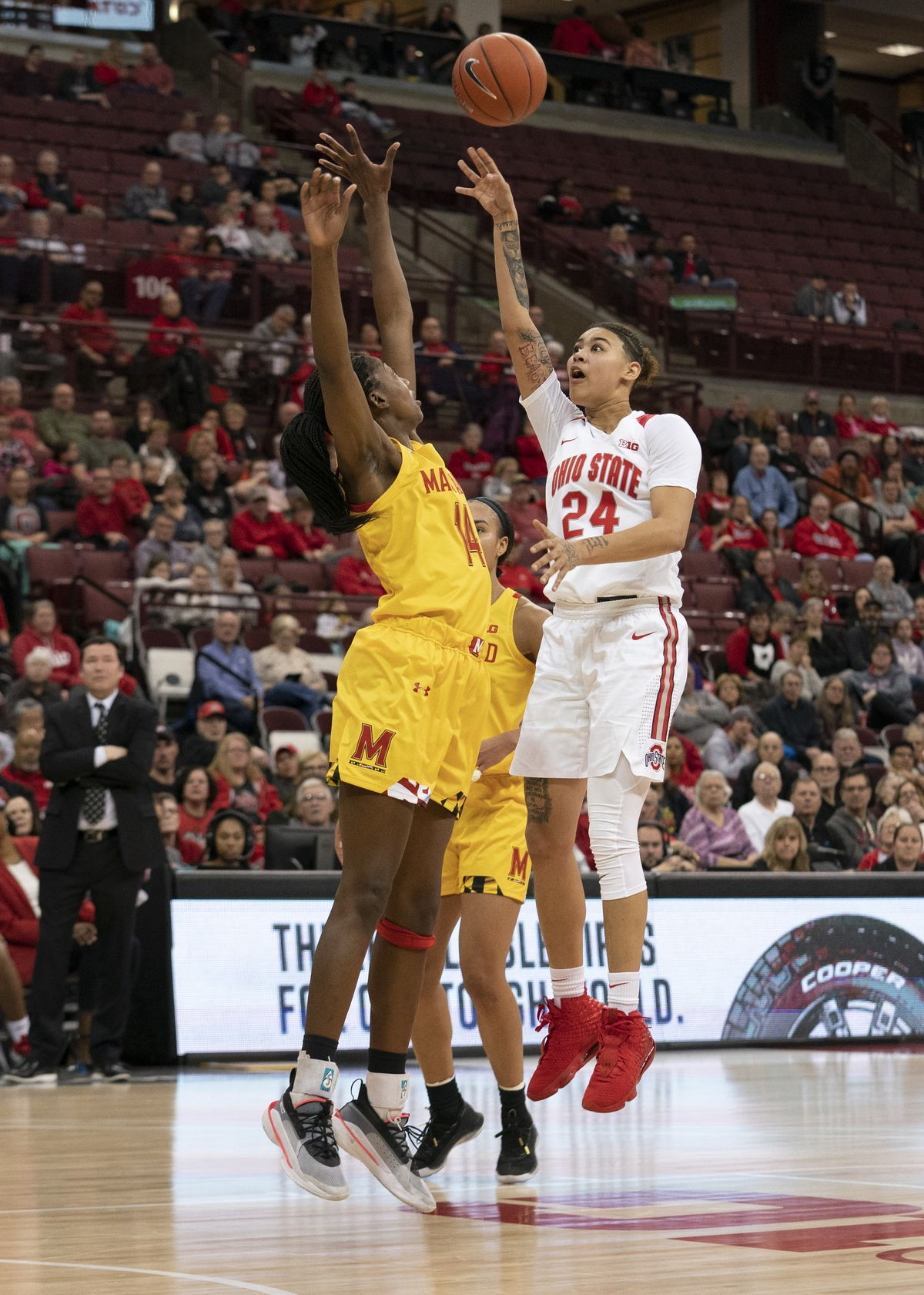 COLLEGE BASKETBALL: JAN 30 Women's Maryland at Ohio State