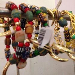Bracelets, $49