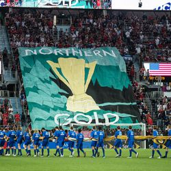 June,18, 2019 - Saint Paul, Minnesota, United States - A CONCACAF Gold Cup match between The United States of America and Guyana at Allianz Field.