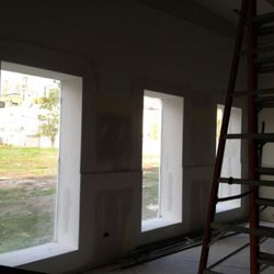 The dining room will look out onto a renovated city park