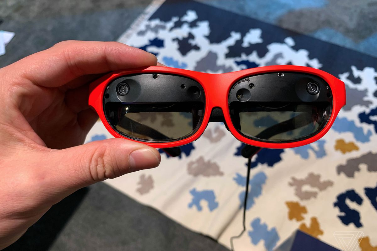 e7b895dc6ef These slick new AR glasses project shockingly high-quality visuals ...