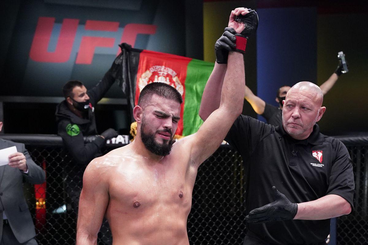 UFC Fight Night: Haqparast v Garcia