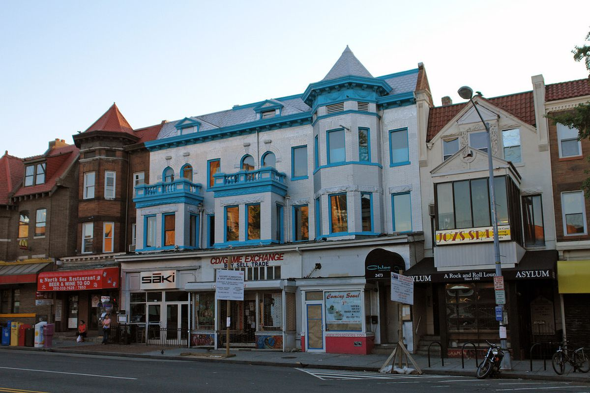 Air will take up the second and third story of a prime space in Adams Morgan