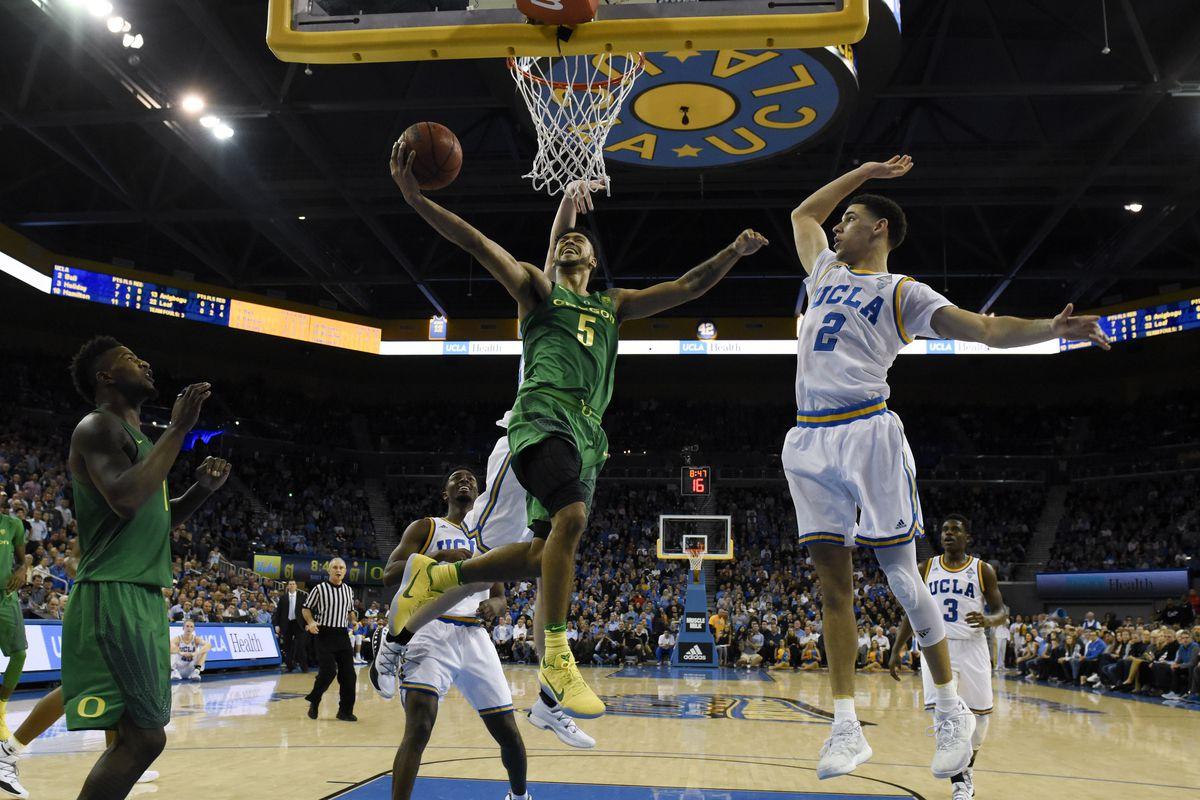 NCAA Basketball: Oregon at UCLA