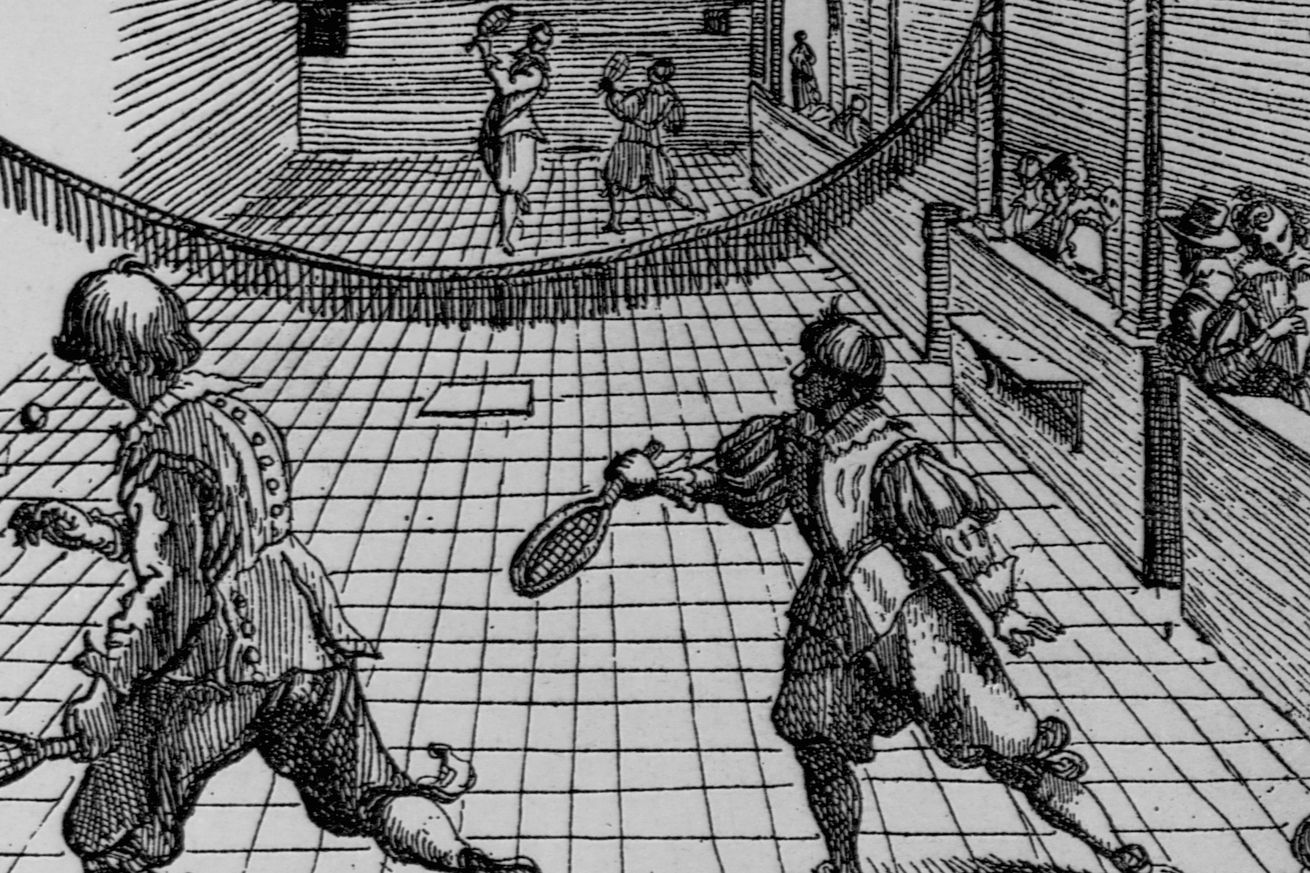 Playing Tennis Indoors