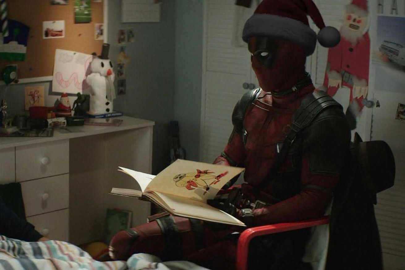 deadpool 2 returns to theaters as pg 13 christmas film once upon a deadpool