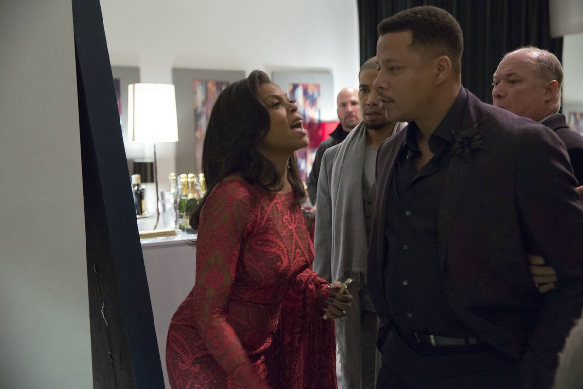 Cookie (Taraji P. Henson) and Luscious (Terrence Howard) are the center of Empire, TV's most dominant show of the moment.