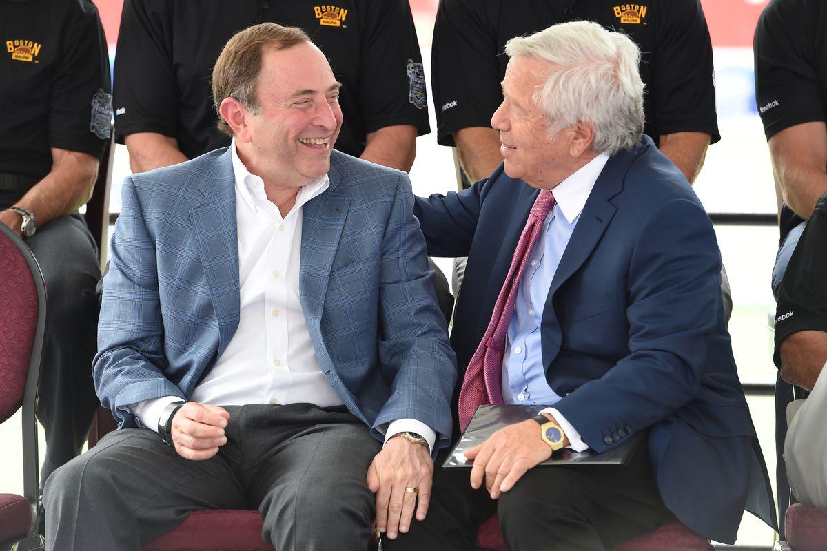 Robert Kraft Sale Debunked, Chris Phillips Retiring and San Jose Sharks Floundering